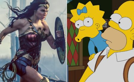 Wonder Woman, invitée surprise des Simpson !