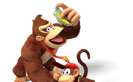 Switch : on a trouvé un usage à l'étui à banane Donkey Kong !