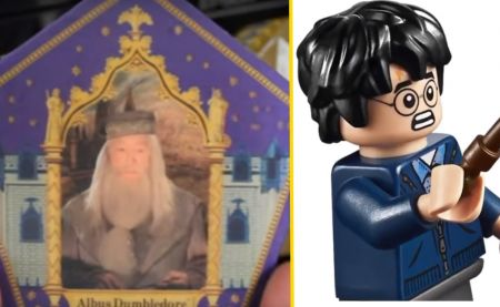 Tuto Harry Potter : des cartes de Chocogrenouilles en LEGO !