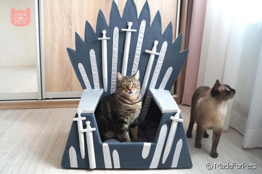Fauteuil pour chats Game of Thrones