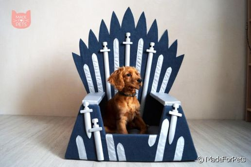 Fauteuil Game of Thrones pour chiens