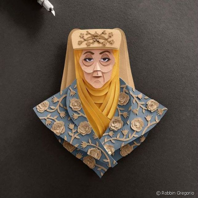 On adore le portrait d'Olenna Tyrell.