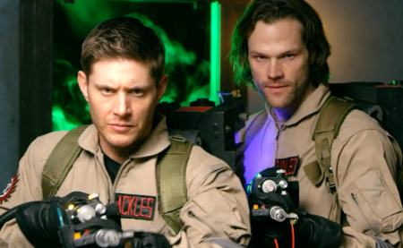 Supernatural : les frères Winchester deviennent Ghostbusters